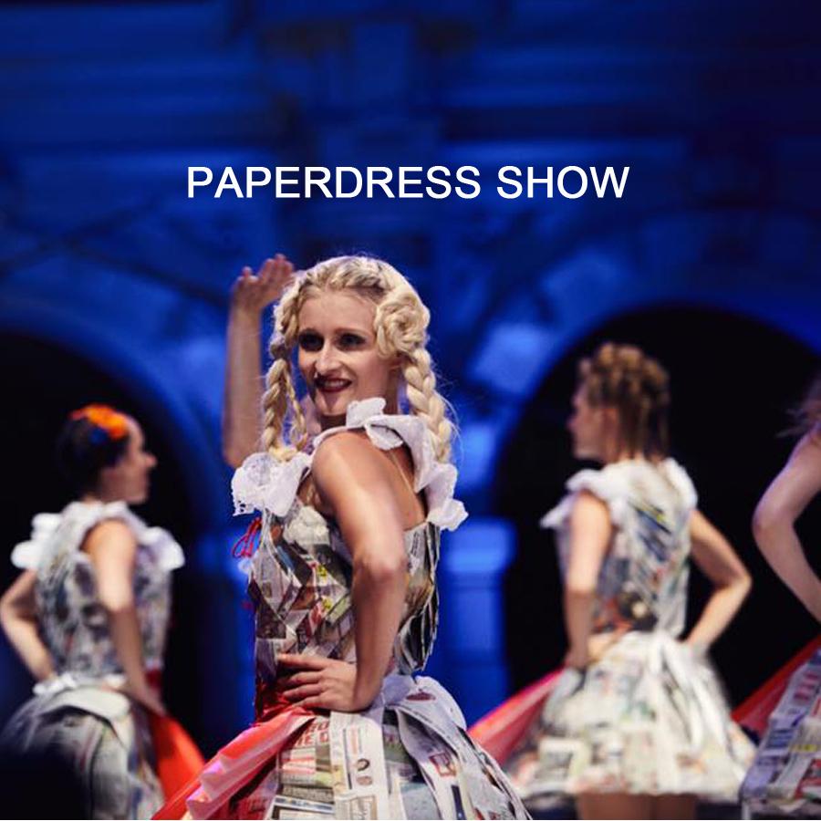 Tanzauftrag Paperdresses