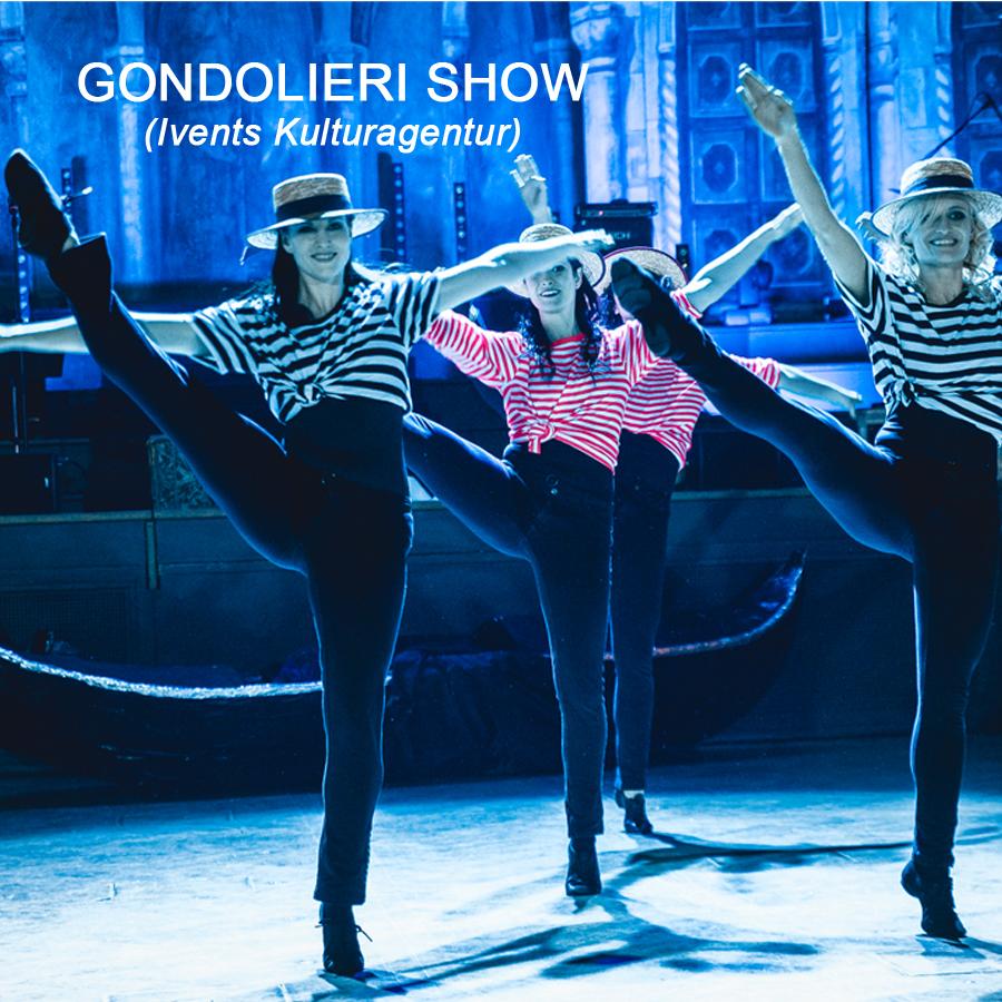 Tanzauftrag Gondolieri Show - Fotocredit: Ivents, Il Ballo di Casanova