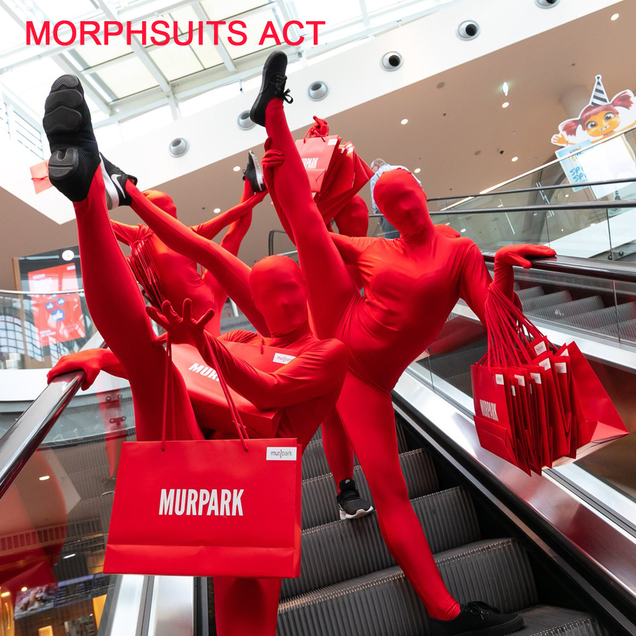 Tanzauftrag Morphsuits Act - Fotocredit: Murpark